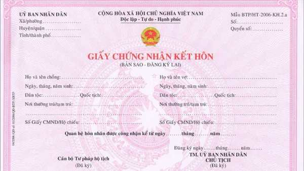 đăng ký kết hôn bao lâu có hiệu lực