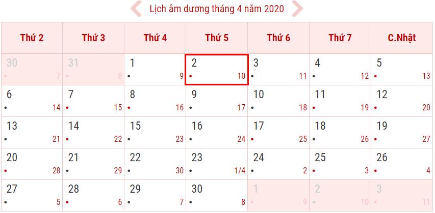 Lịch nghỉ Giỗ tổ Hùng Vương năm 2020