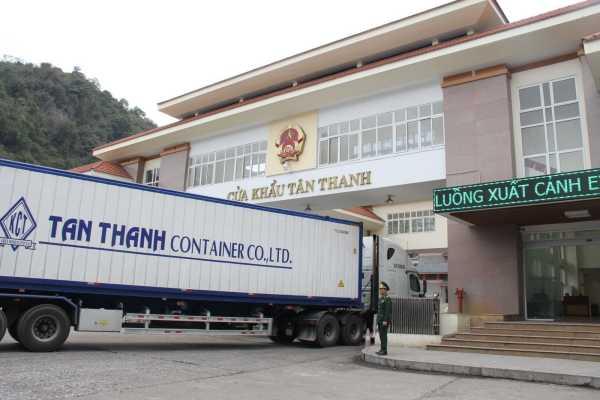 Chính thức mở cửa khẩu Tân Thanh và Cốc Nam để vận chuyển hàng hóa
