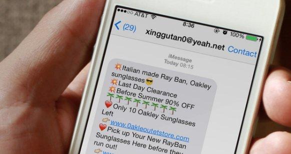 Gửi tin nhắn rác, email rác bị phạt tới 80 triệu đồng