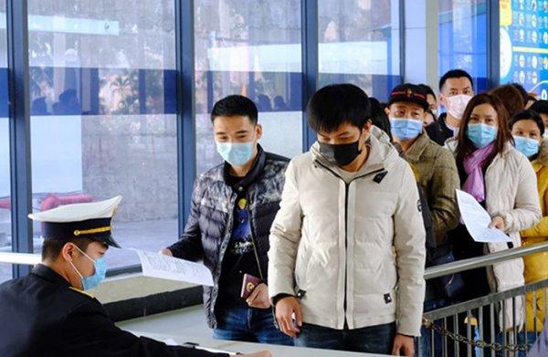Tạm dừng nhập cảnh người đến từ Hàn Quốc và vùng có dịch