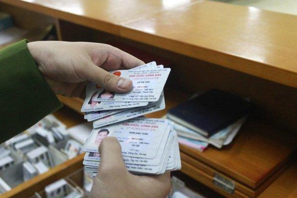 Thủ tục cấp lại thẻ Căn cước công dân mới nhất
