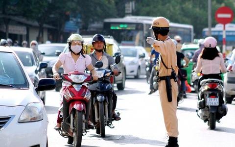 Trình tự nộp phạt vi phạm giao thông qua ngân hàng