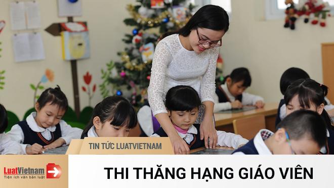 Thi thăng hạng giáo viên