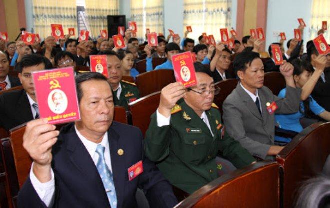 Hướng dẫn mới về Quy chế bầu cử trong Đảng