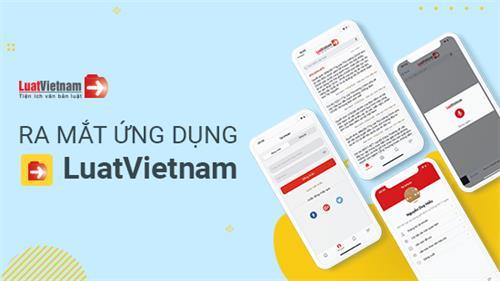 Ứng dụng LuatVietnam đã có trên hệ điều hành iOS