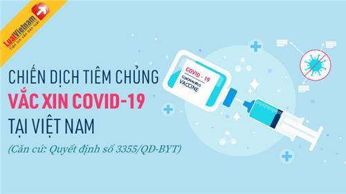 Infographic: Chiến dịch tiêm chủng vắc xin Covid-19 tại Việt Nam